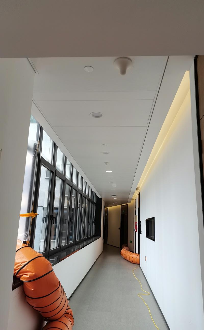 上海广播大厦@白色铝单板