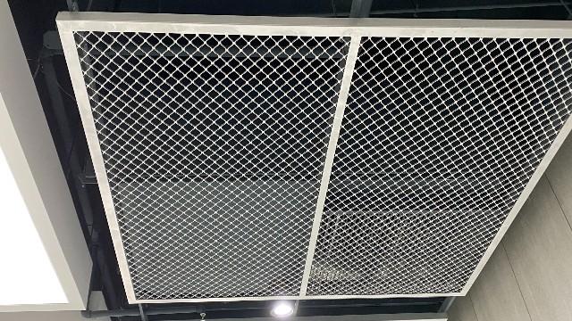 浦东工业大学铝网板A级膜工程案例