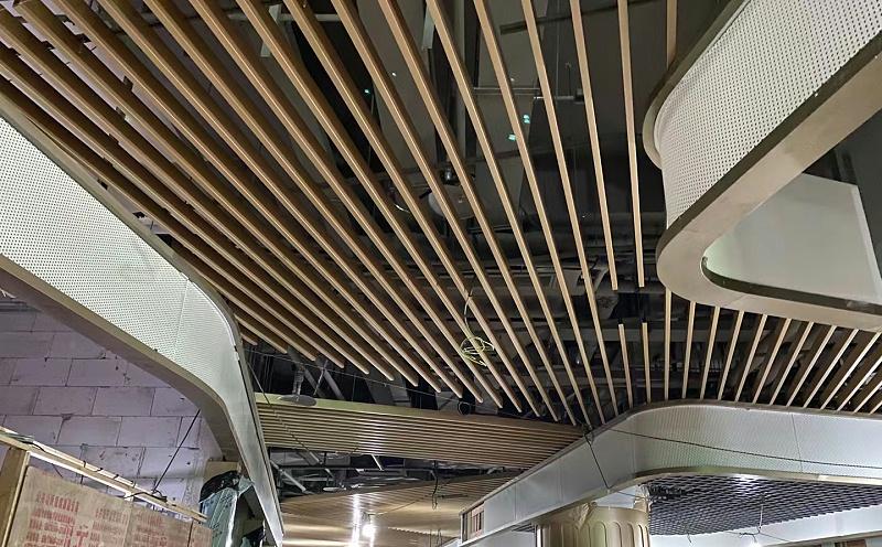 漫乐城项目@铝单板,铝方通
