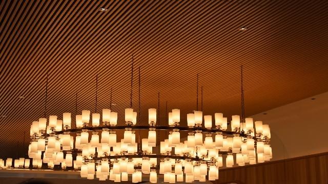 无锡凤宾路万科项目吊顶铝方通案例