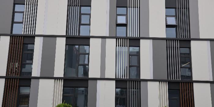 深灰色幕墙铝单板-氟碳铝单板-深灰色氟碳铝单板