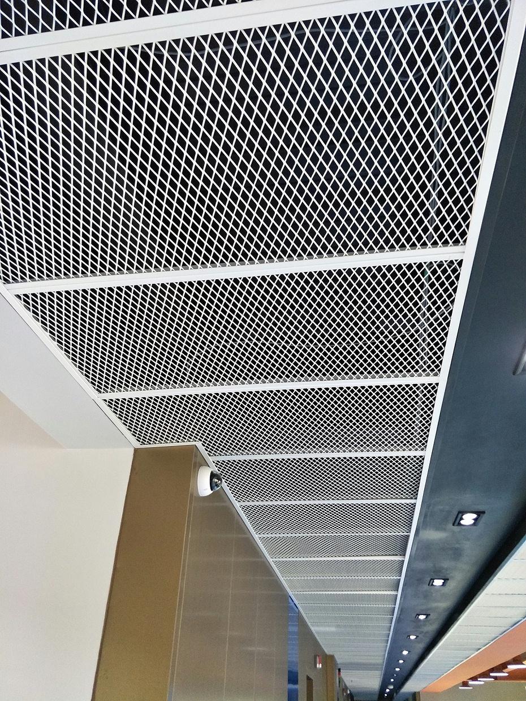 2.5厚白色铝网板,139平方(1)