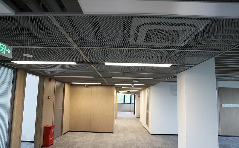 上海地产闵虹集团办公楼@拉伸铝网板