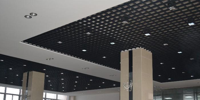 铝格栅天花工程施工安装方法