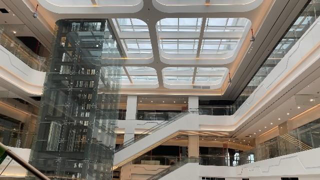 浦东祝桥天和商业广场案例@造型铝单板